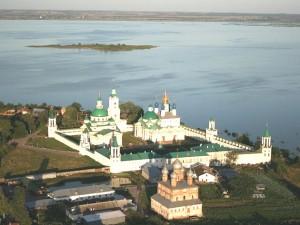 Ростов Ярославский с высоты птичьего полета